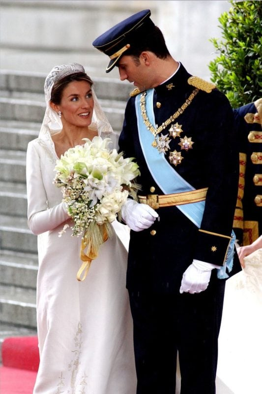 Royal Wedding Dresses - Letizia Orti