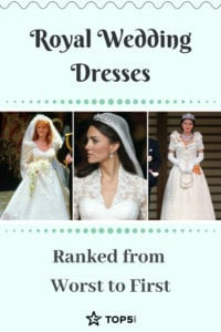 royal wedding dresses ranked from worst to first