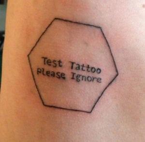 test tattoo - funny tattoos