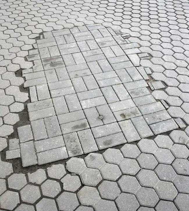 pavement slabs - OCD photos