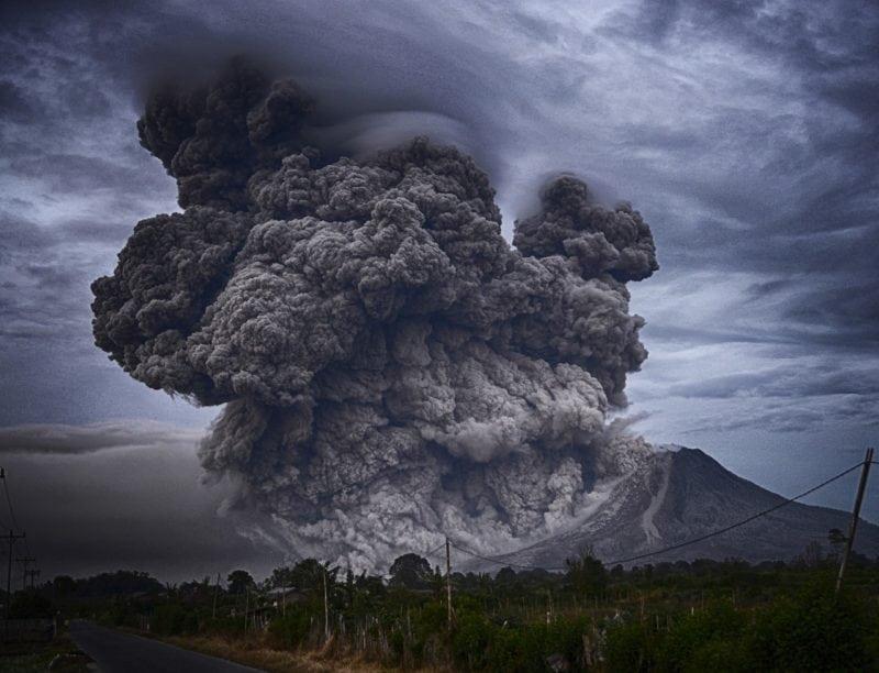 travel nightmares: natural disaster
