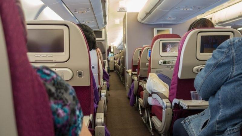 travel nightmares plane interior