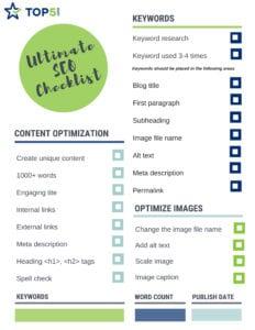 ultimate seo checklist download