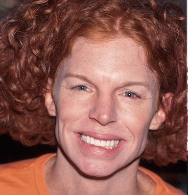 Carrot Top is an unrecognizable famous person these days