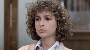 Jennifer Grey back in the height of her career