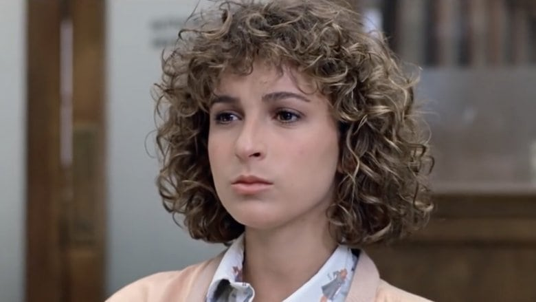 Jennifer Grey at the height of her career before she joined the unrecognizable famous people