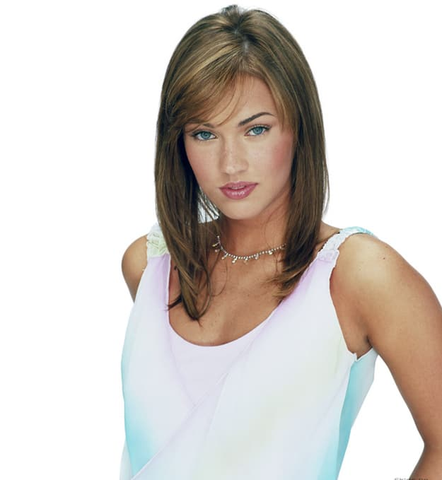 Megan Fox before plastic surgery | unrecognizable famous people
