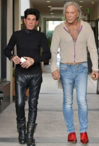 Mickey Rourke is an unrecognizable famous person today
