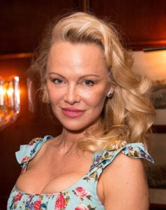 Pamela Anderson is an unrecognizable famous person these days