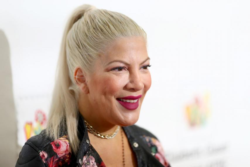 Tori Spelling is an unrecognizable famous person today