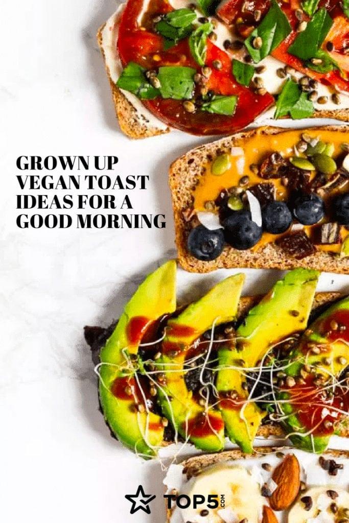 vegan toast