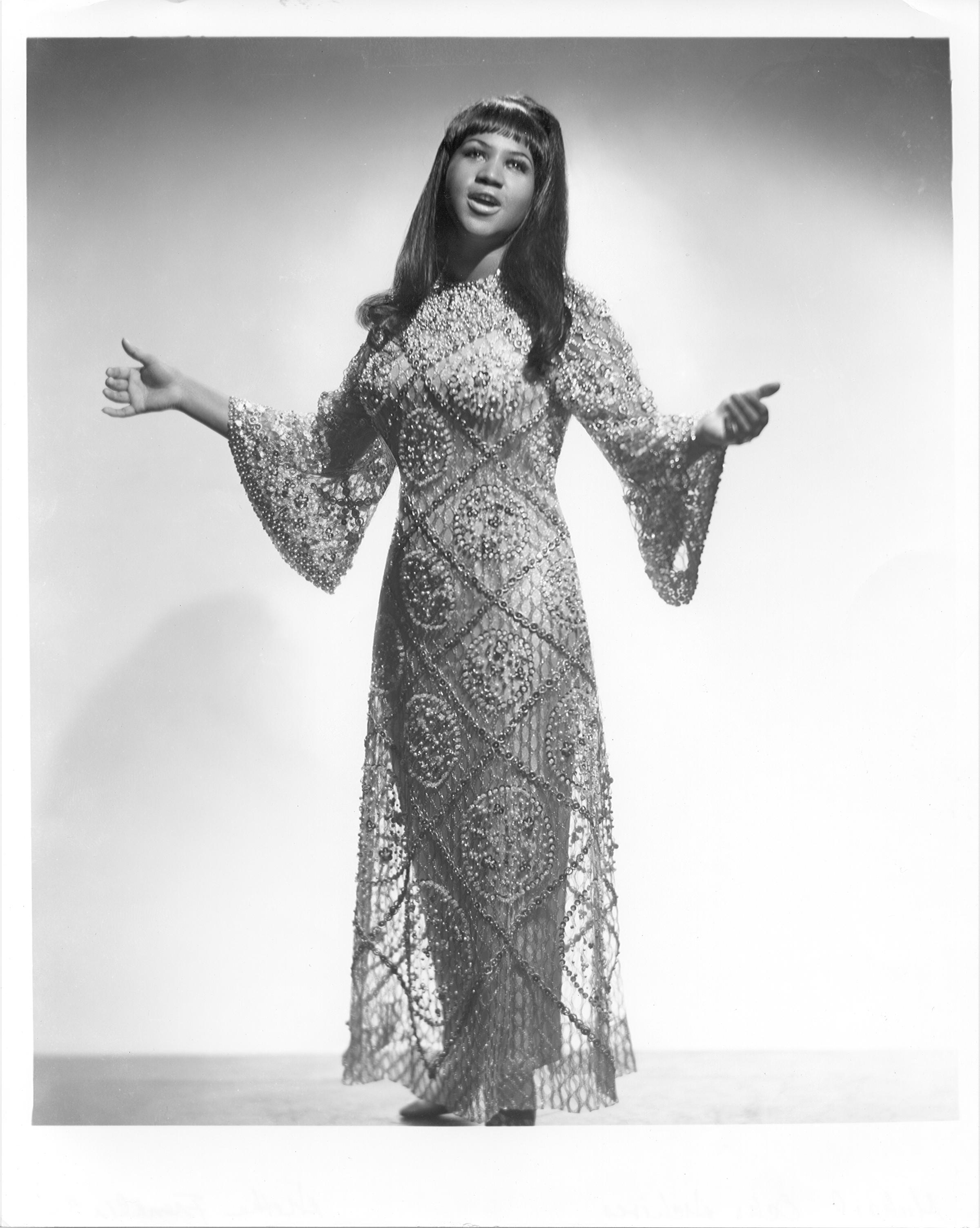 vintage photos Aretha Franklin