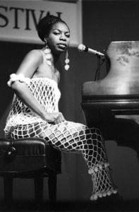vintage photos Nina Simone