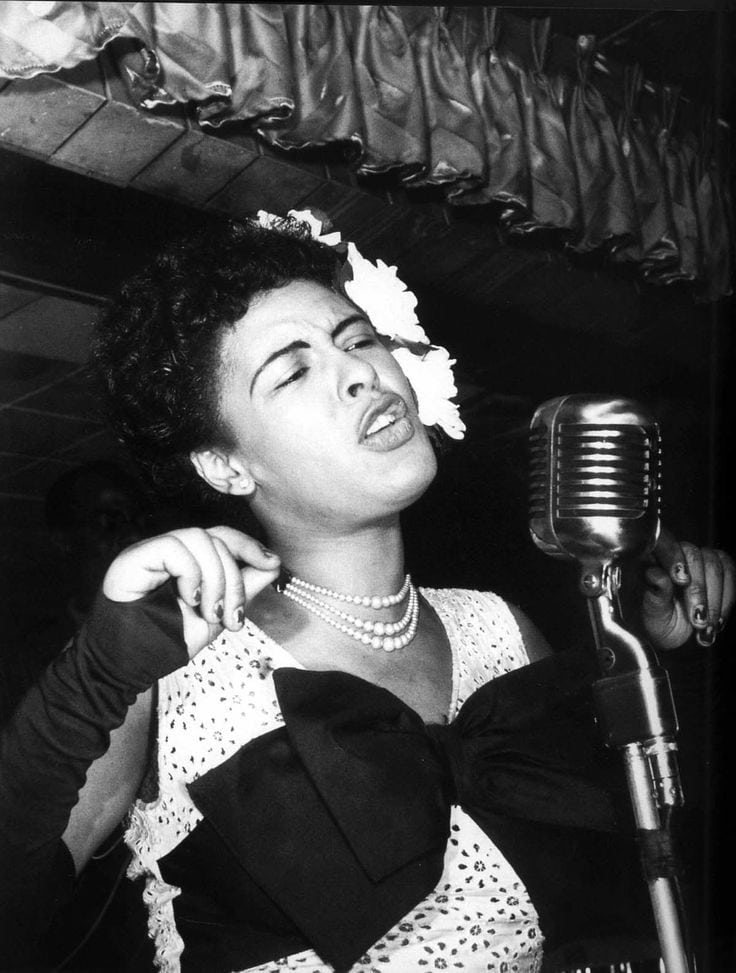 vintage photos Billie Holiday