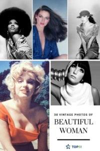 vintage photos of beautiful woman