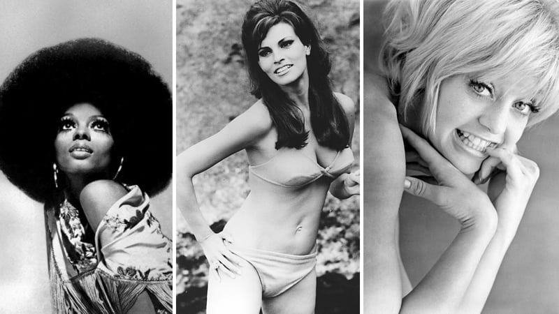 60 Vintage Photos of Beautiful Famous Women