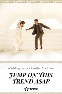 wedding bouncy castles