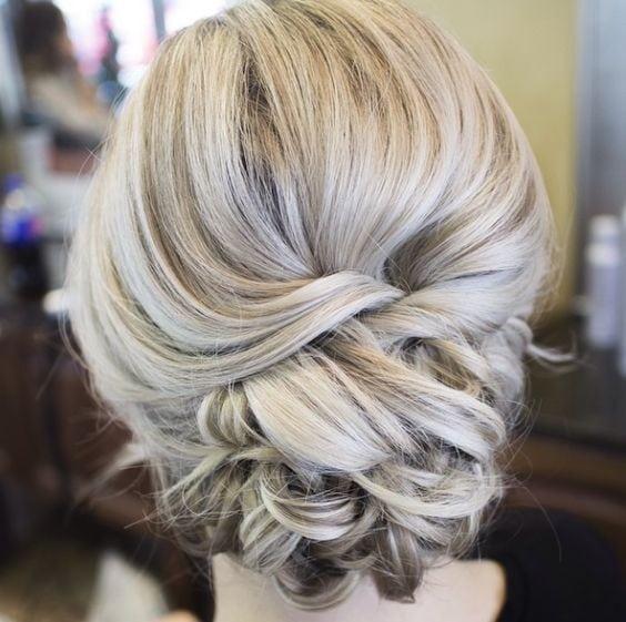 wedding updos: the elegant twist
