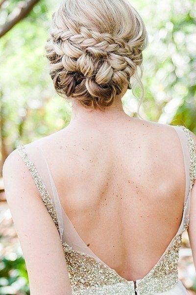 wedding updos: intricate braids