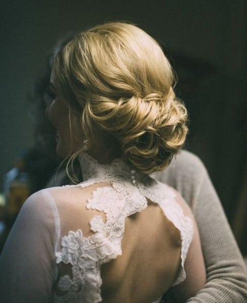 wedding updos: classic bun