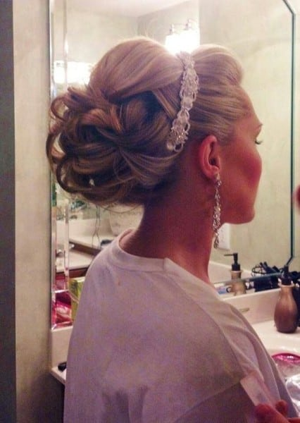 wedding updos: the princess look