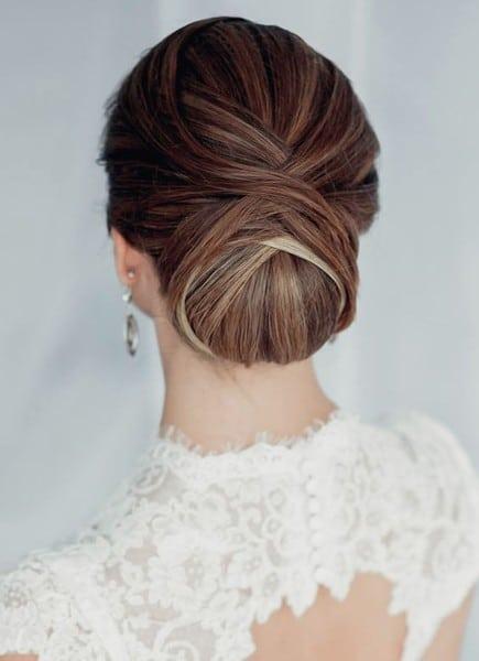 wedding updos: the layered twist