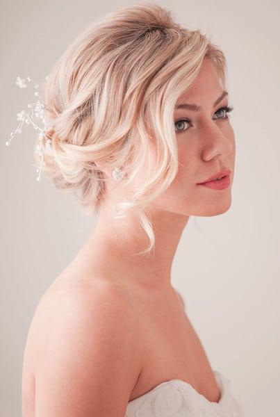 wedding updos: the boho wave