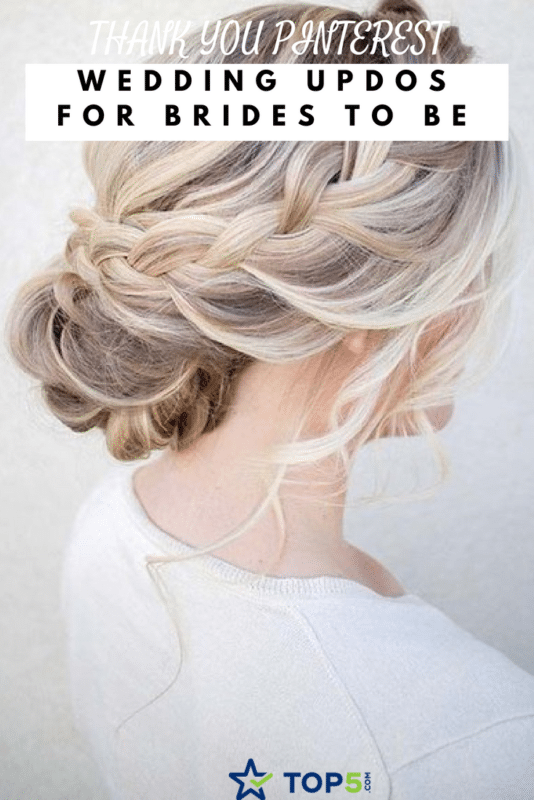 wedding updos for brides-to-be
