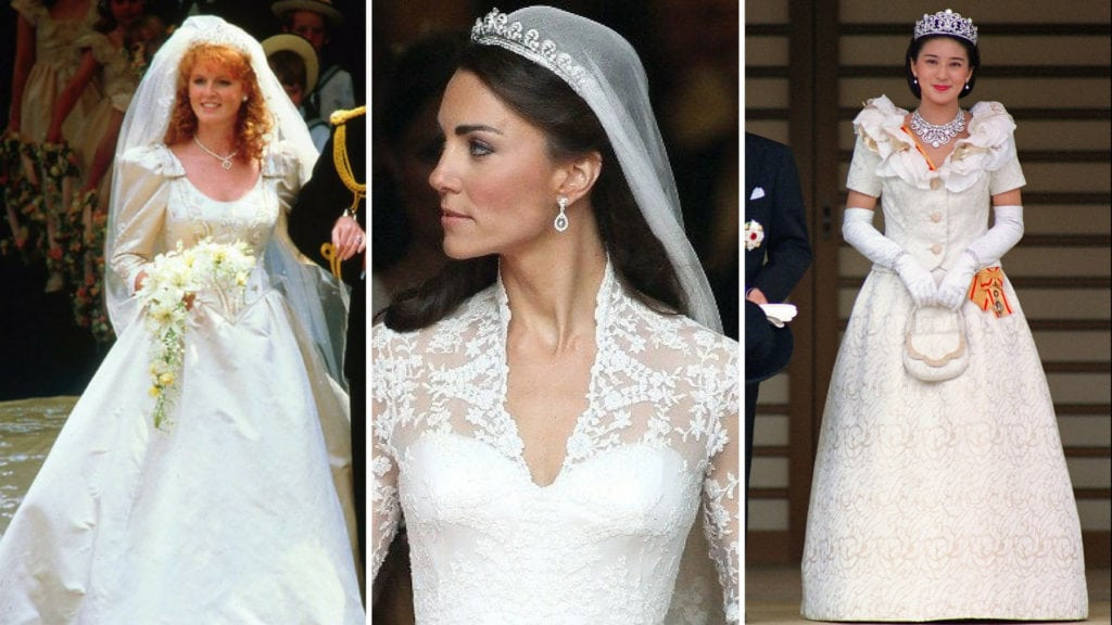 25 Royal Wedding Dresses Ranked from Worst to First
