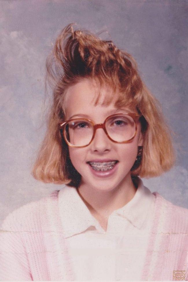 awkward school photos | 80s hairspray head