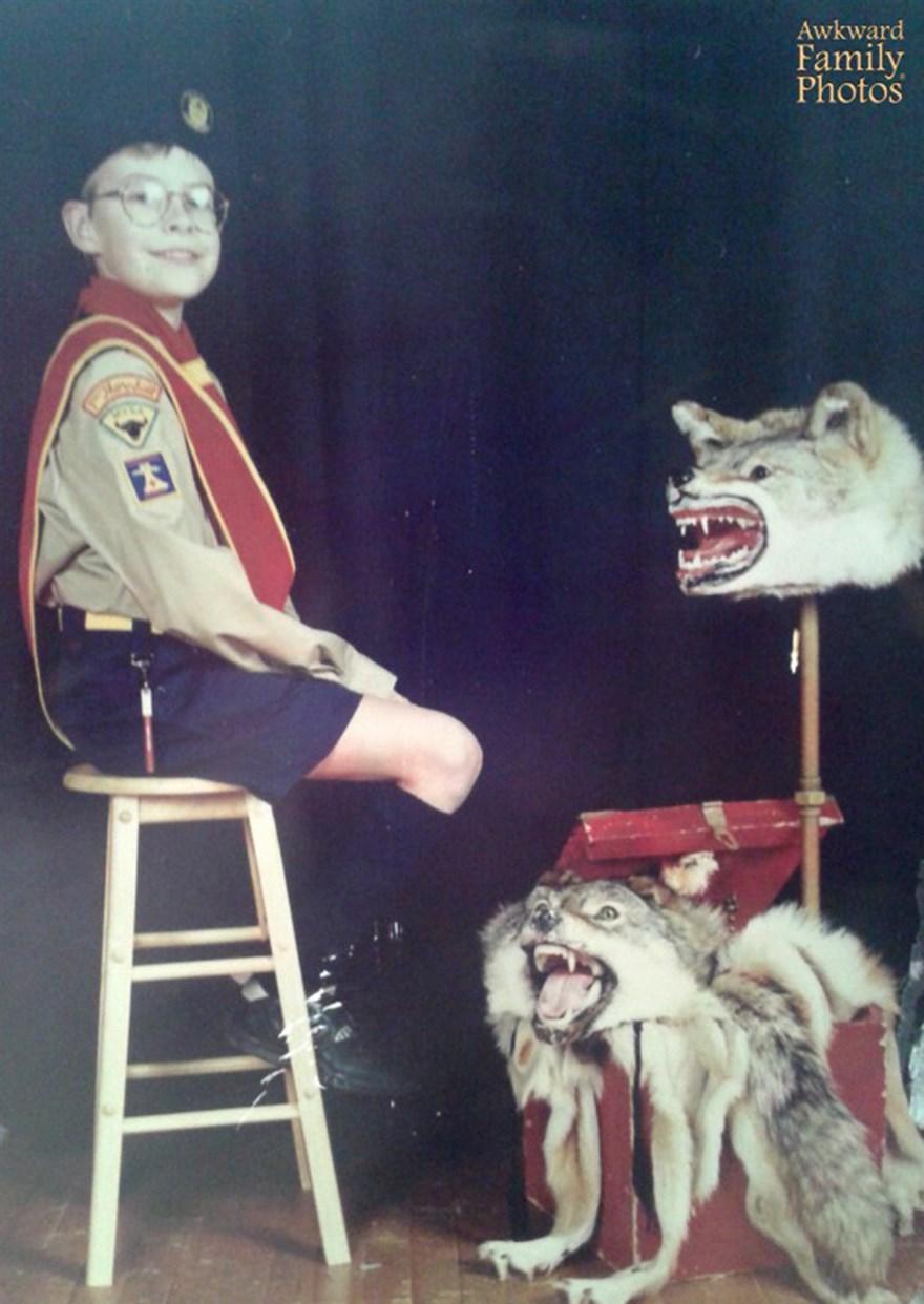 awkward school photos wolves