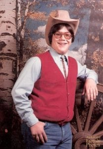 awkward school photos john wayne