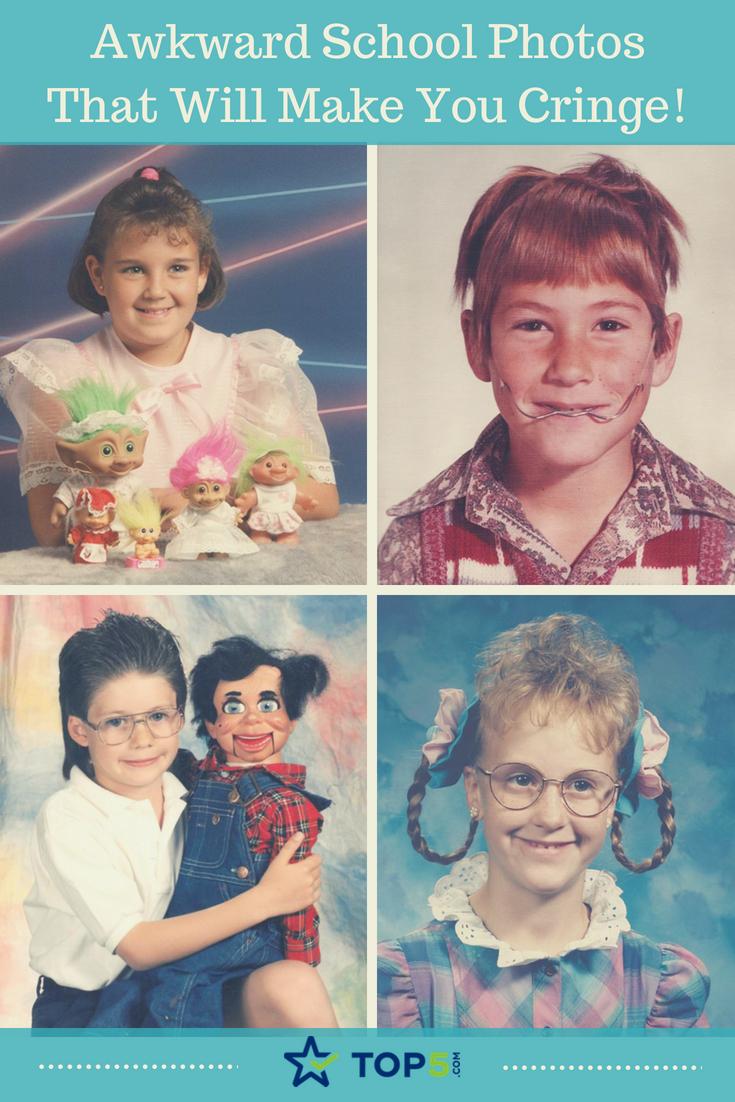 awkward school photos that will make you cringe
