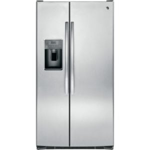 best refrigerator overall GE side-by-side fridge