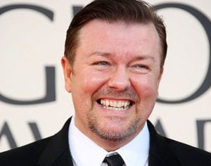 celebs with the worst teeth ricky gervais