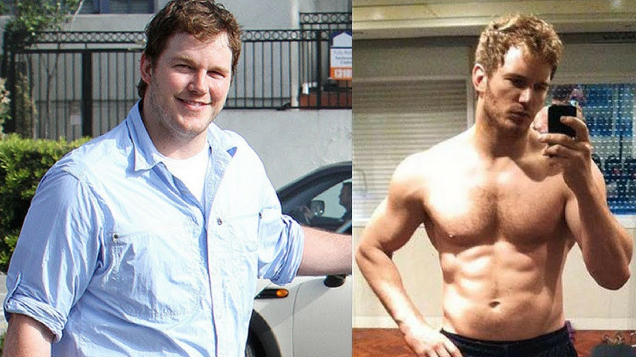 chris pratt celeb weight loss