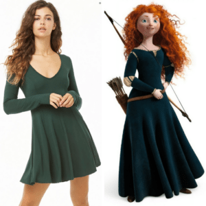 disney dress merida
