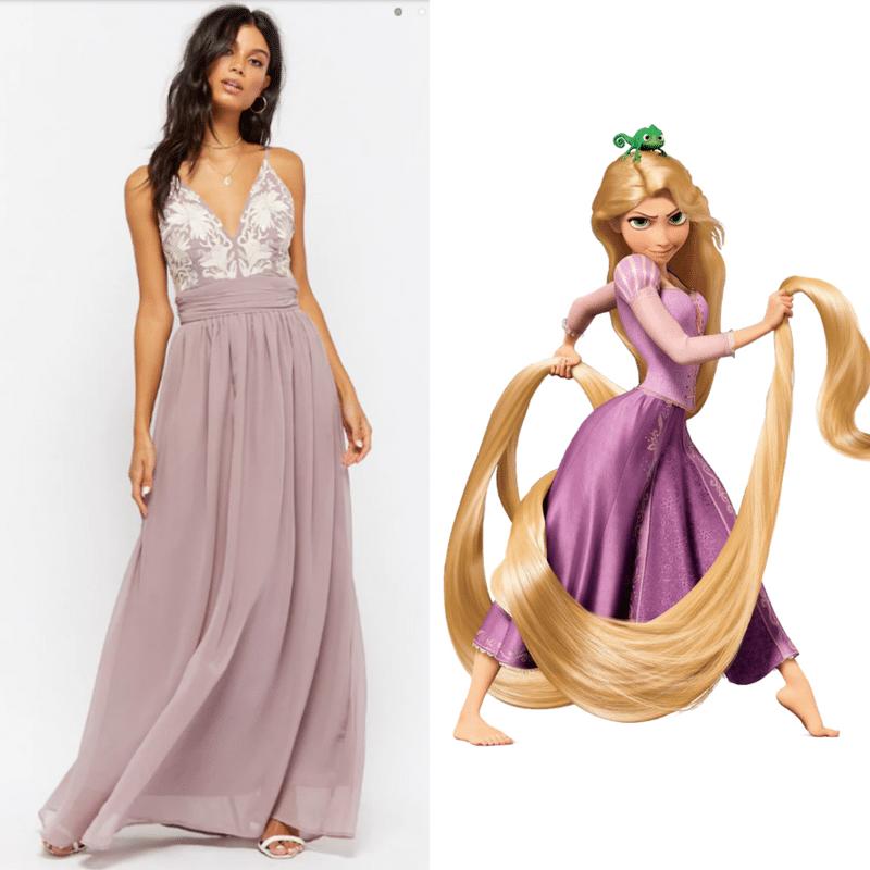 disney dresslike Rapunzel for women