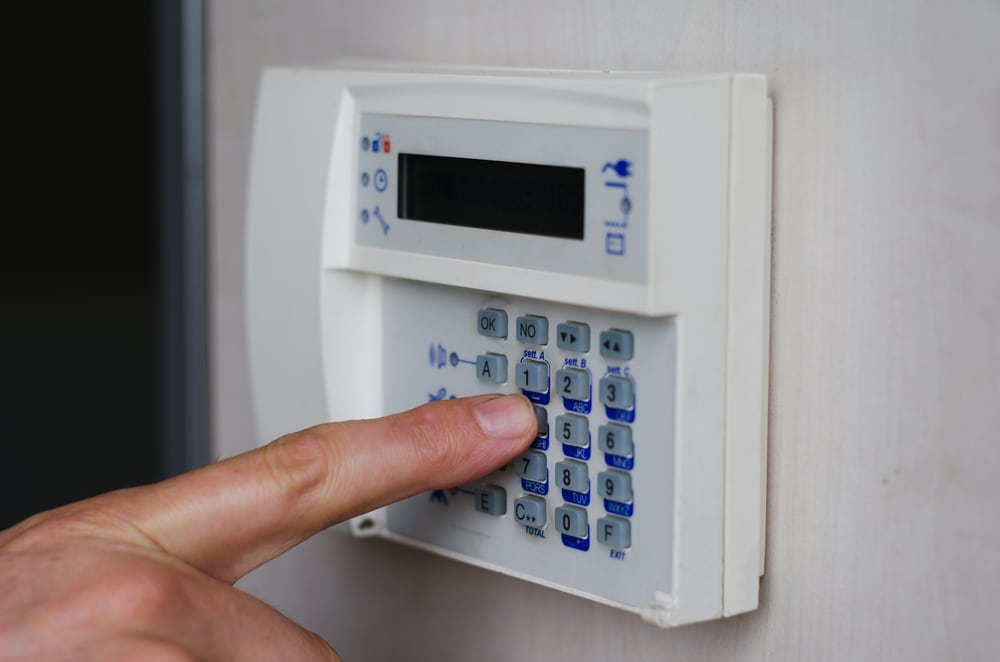 Do I need a home security system? security keypad