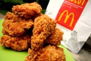 failed products McDonald's Mighty Wings