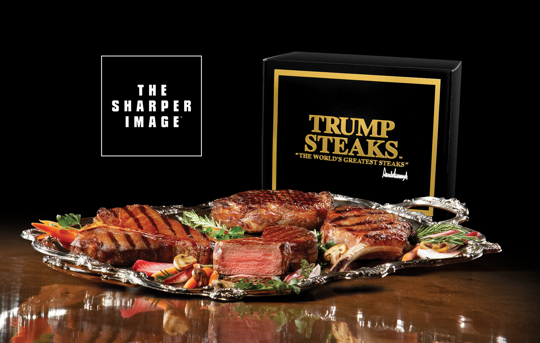 failed products Trump Steaks