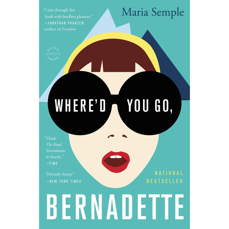 funny books where'd you go, bernadette