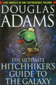 funny books the ultimate hitchhiker's guide to the galaxy