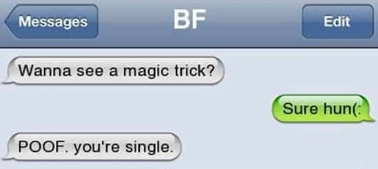 20+ Savage Yet Funny Breakup Texts You'll Be Happy Weren't Sent To You