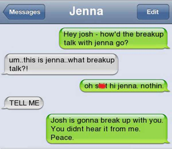 funny breakup text | texting the SO
