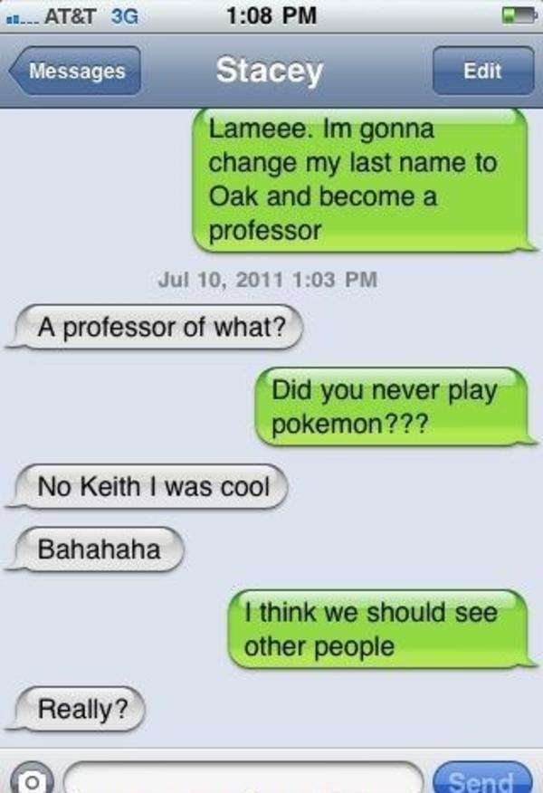 funny breakup texts pokemon