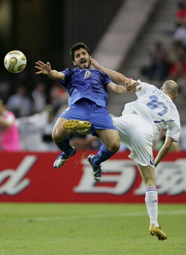 funny sports photos | soccer kick between the legs