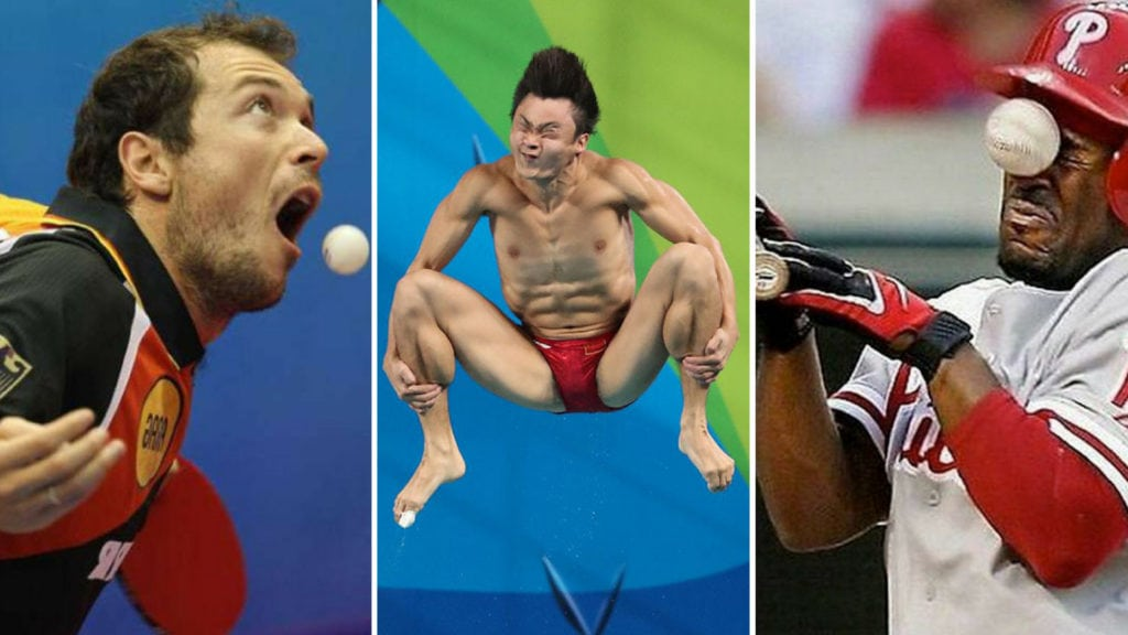 Funny Sports Photos That'll Make You Laugh Out Loud