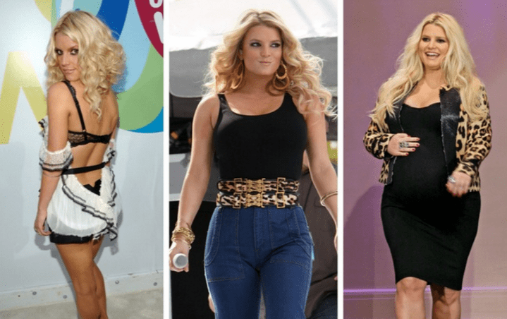 jessica simpson celeb weight loss