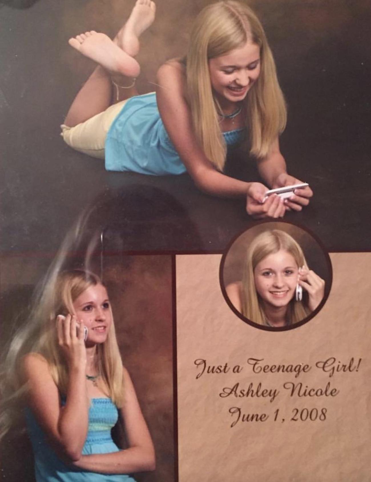 just a teenage girl awkward school photos